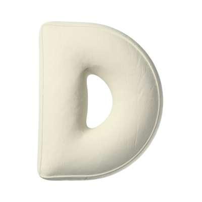 Buchstabenkissen D von der Kollektion Posh Velvet, Stoff: 704-10