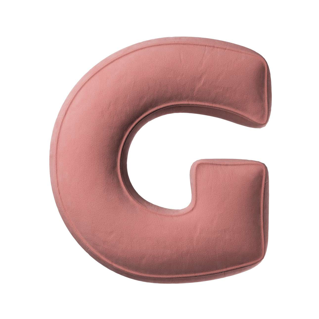 Buchstabenkissen G von der Kollektion Posh Velvet, Stoff: 704-30