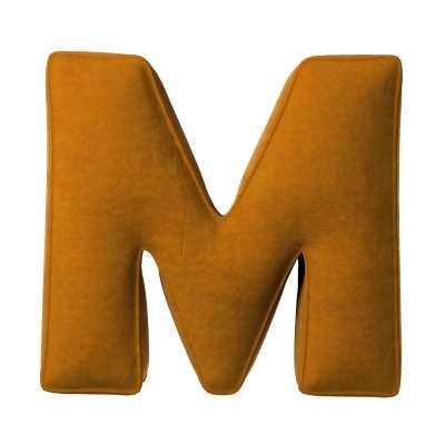 Poduszka literka M 704-23 Kolekcja Posh Velvet