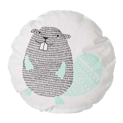 Poduszka Funny Beaver