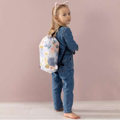 Rucksackbeutel Kiddy von der Kollektion Magic Collection, Stoff: 500-17