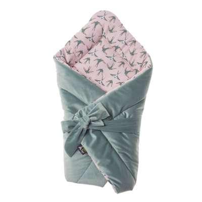 Rożek Velvet Nest Premium mint