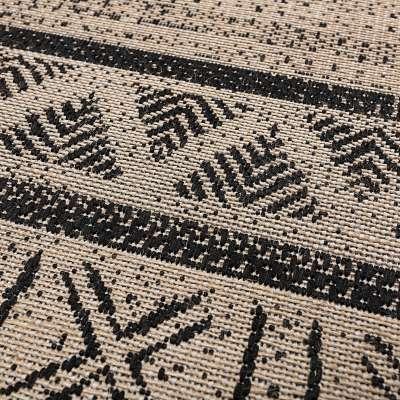 Kilimas Origin black/jute 160x230cm