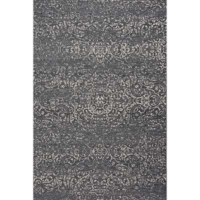 Teppich Velvet wool/petrol blue 200x290cm