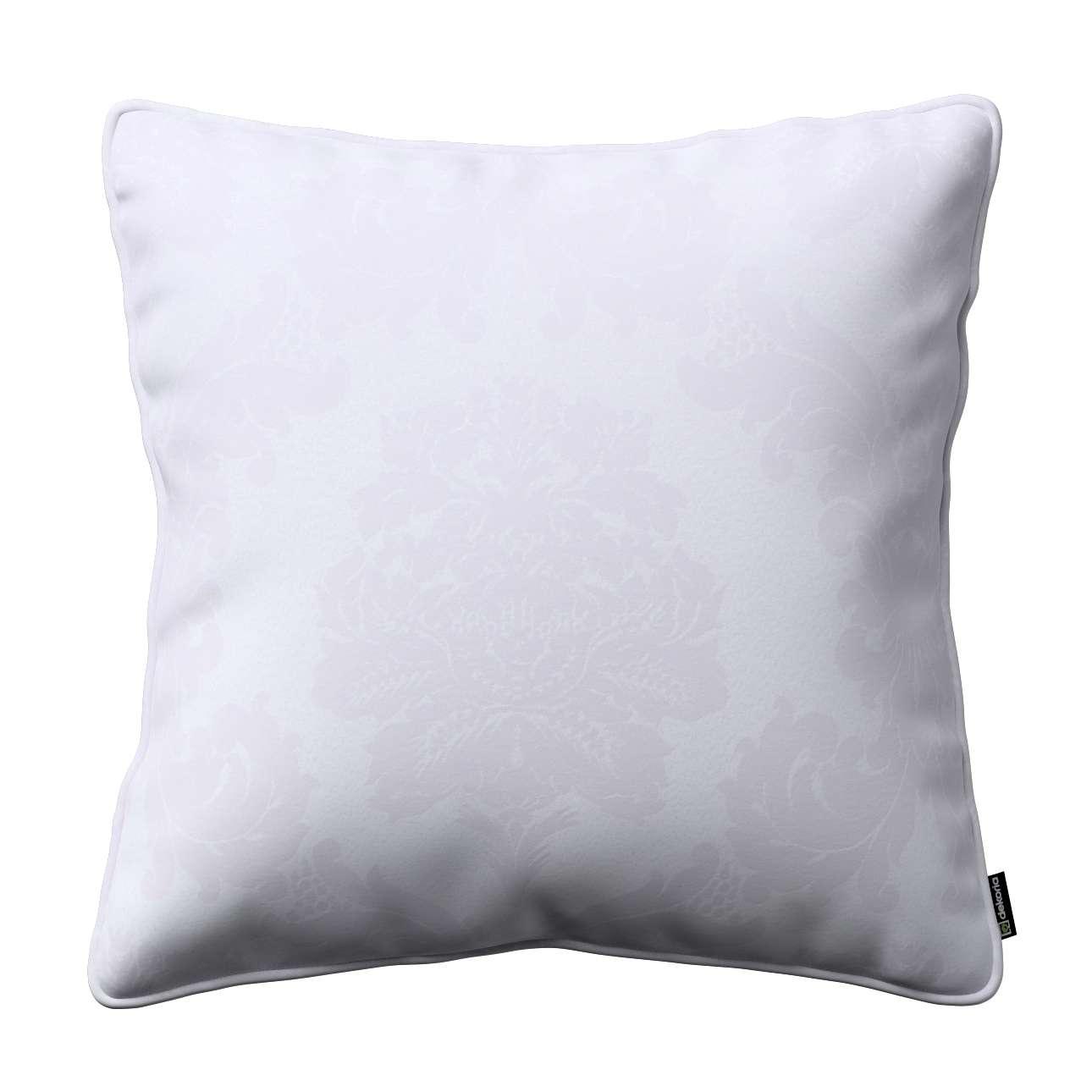 Poszewka Gabi na poduszkę w kolekcji Damasco, tkanina: 613-00