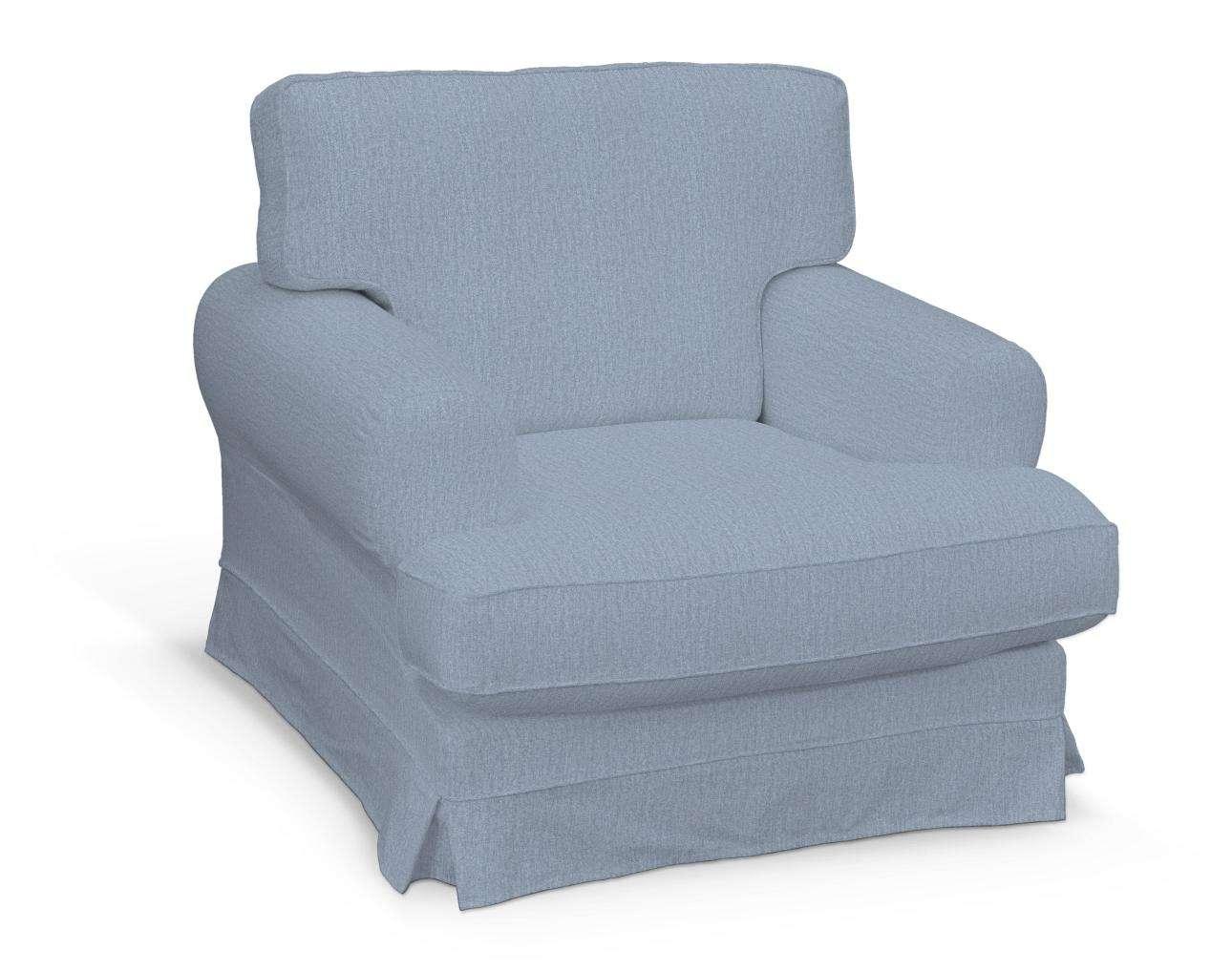 Pokrowiec na fotel Ekeskog w kolekcji Chenille, tkanina: 702-13