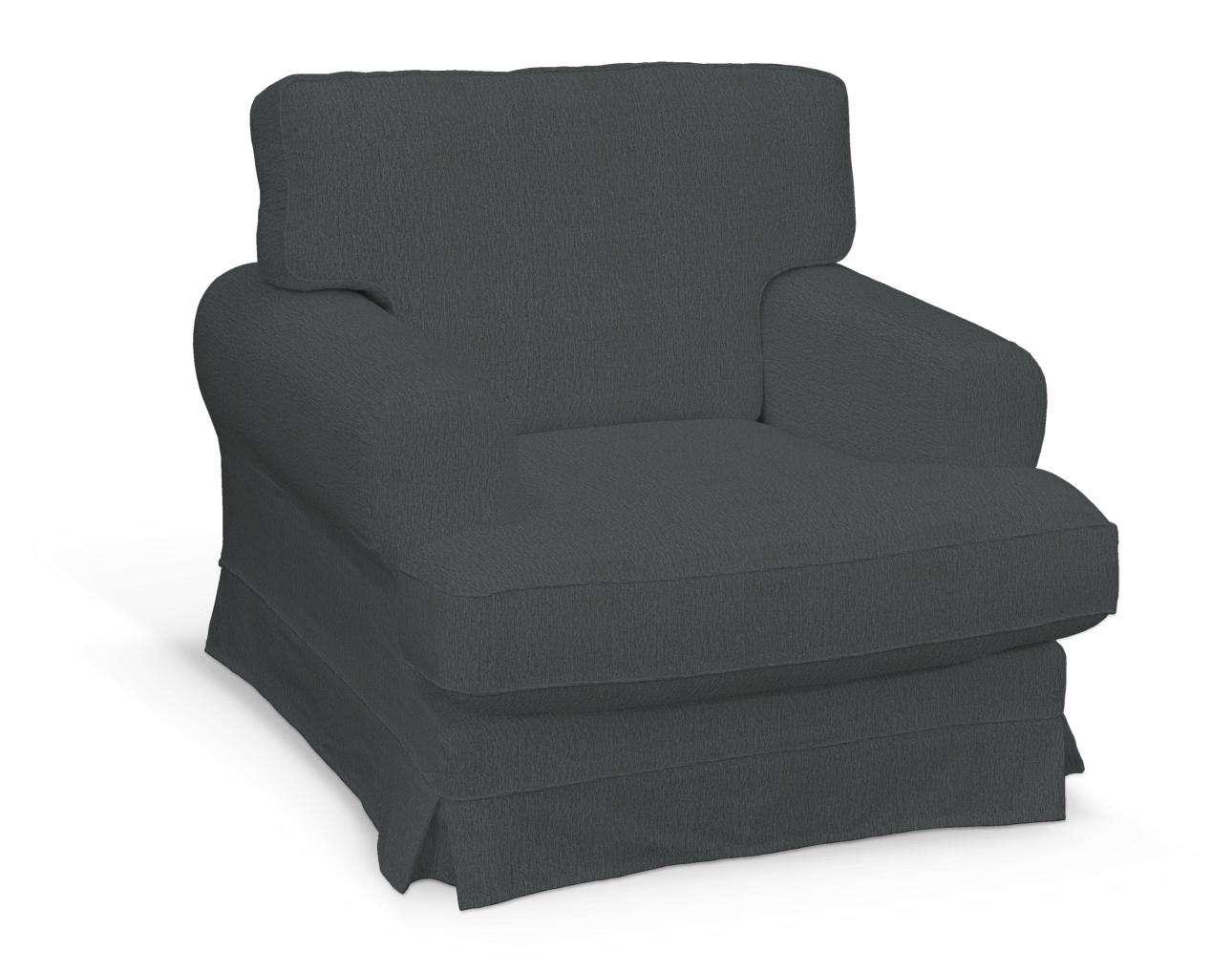 Pokrowiec na fotel Ekeskog w kolekcji Chenille, tkanina: 702-20