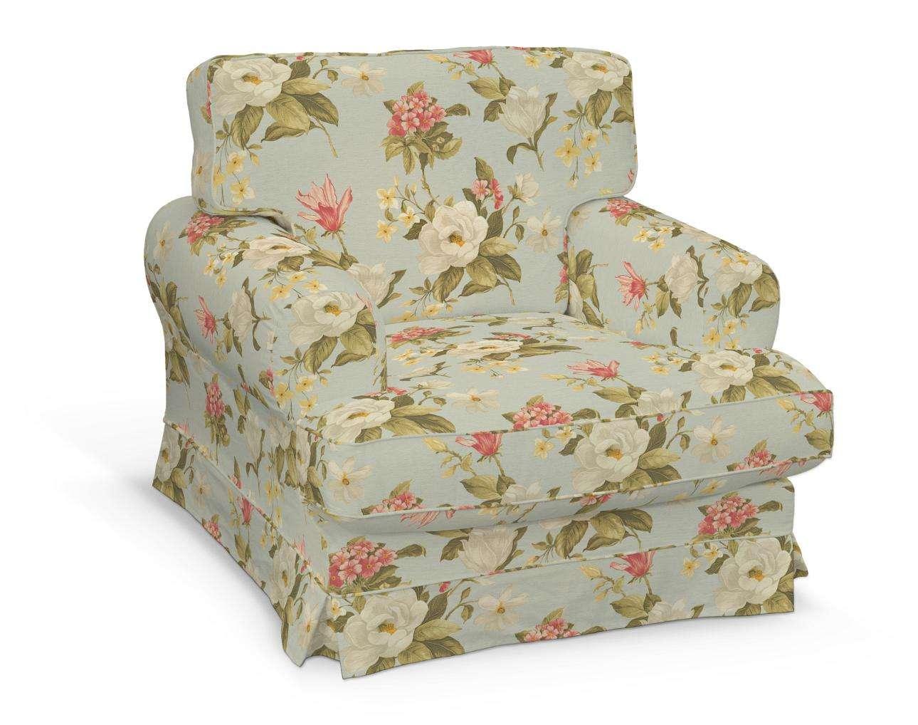 Pokrowiec na fotel Ekeskog w kolekcji Londres, tkanina: 123-65