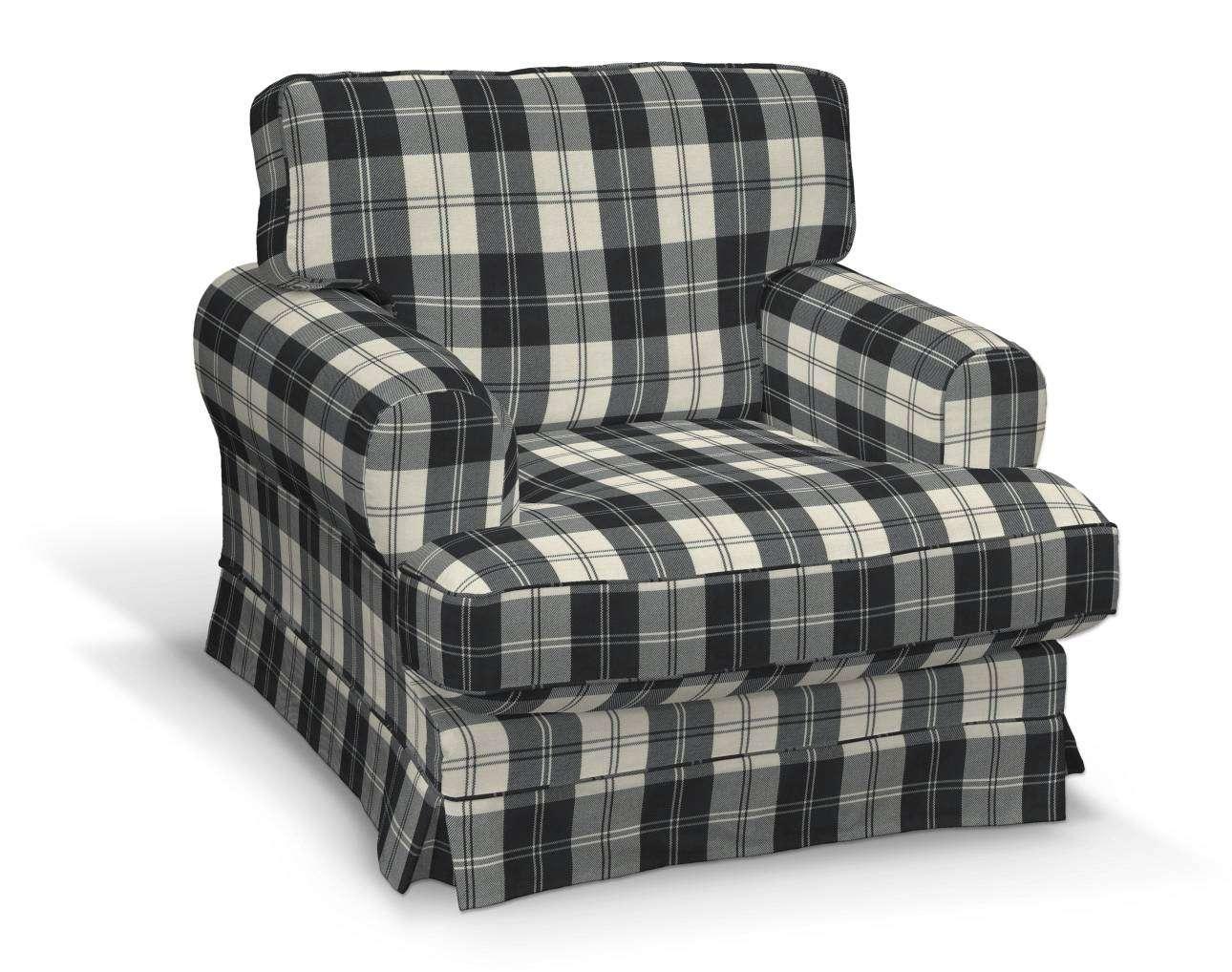 Pokrowiec na fotel Ekeskog w kolekcji Edinburgh, tkanina: 115-74