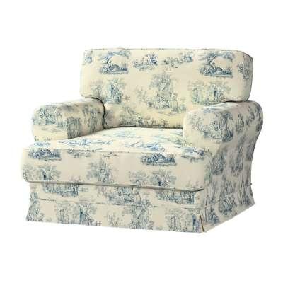 Pokrowiec na fotel Ekeskog w kolekcji Avinon, tkanina: 132-66