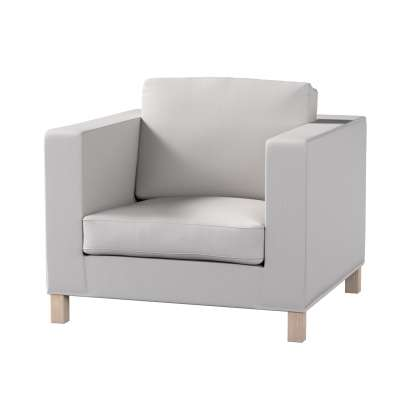 Pokrowiec na fotel Karlanda, krótki w kolekcji Chenille, tkanina: 702-23