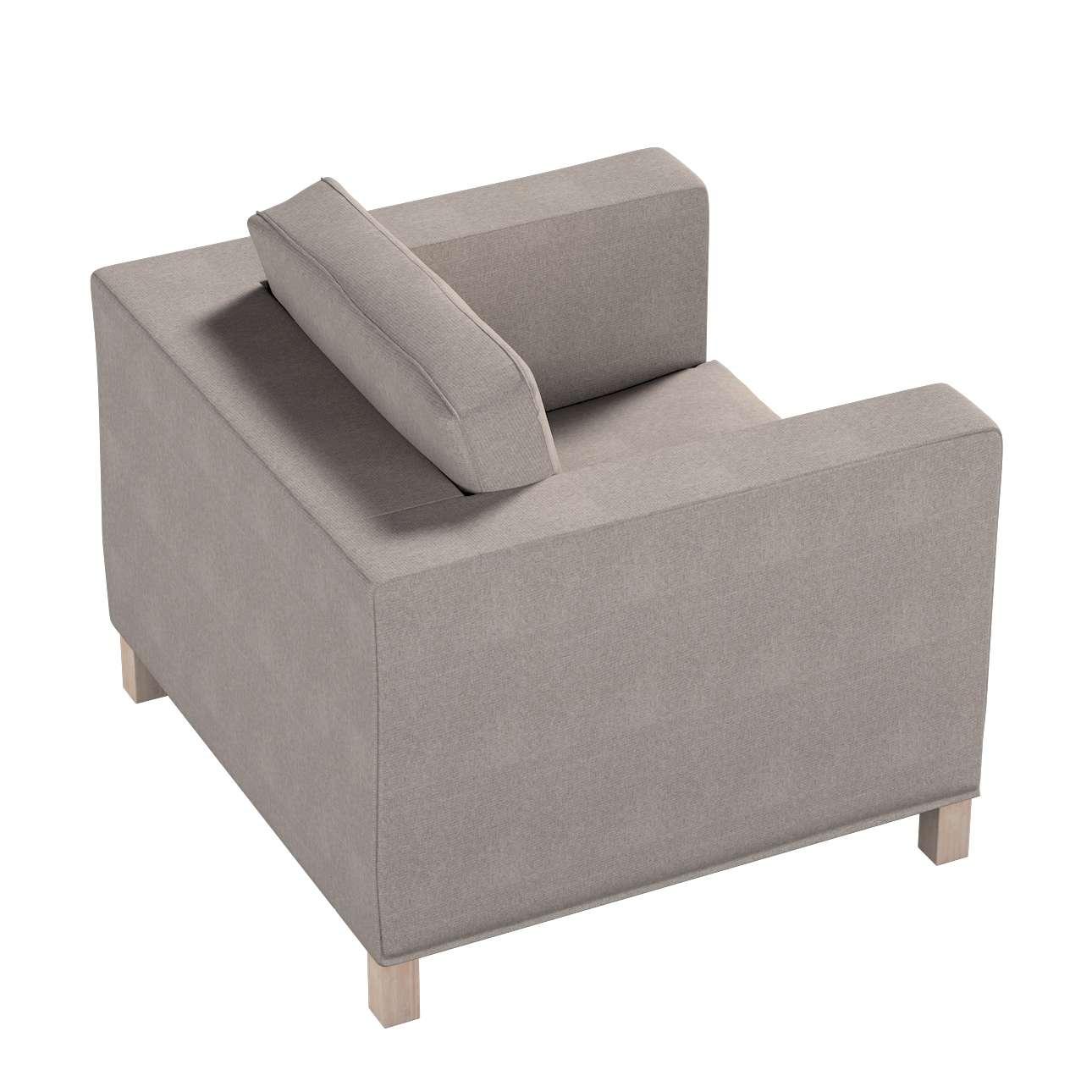 Pokrowiec na fotel Karlanda, krótki w kolekcji Etna, tkanina: 705-09