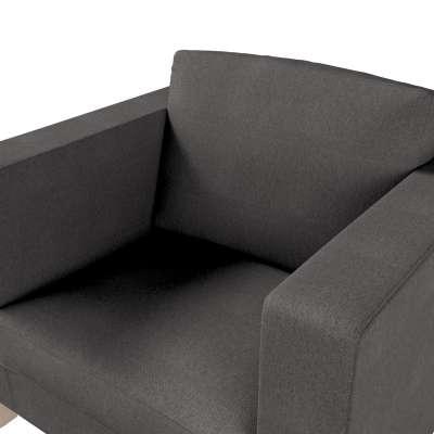 Pokrowiec na fotel Karlanda, krótki w kolekcji Etna, tkanina: 705-35