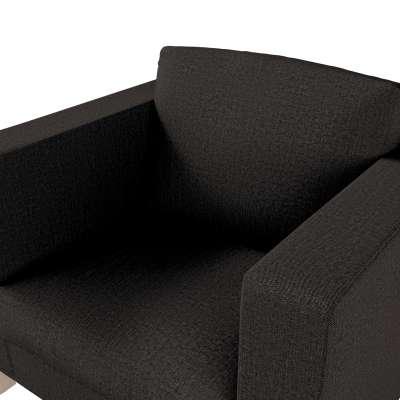 Pokrowiec na fotel Karlanda, krótki w kolekcji Etna, tkanina: 702-36