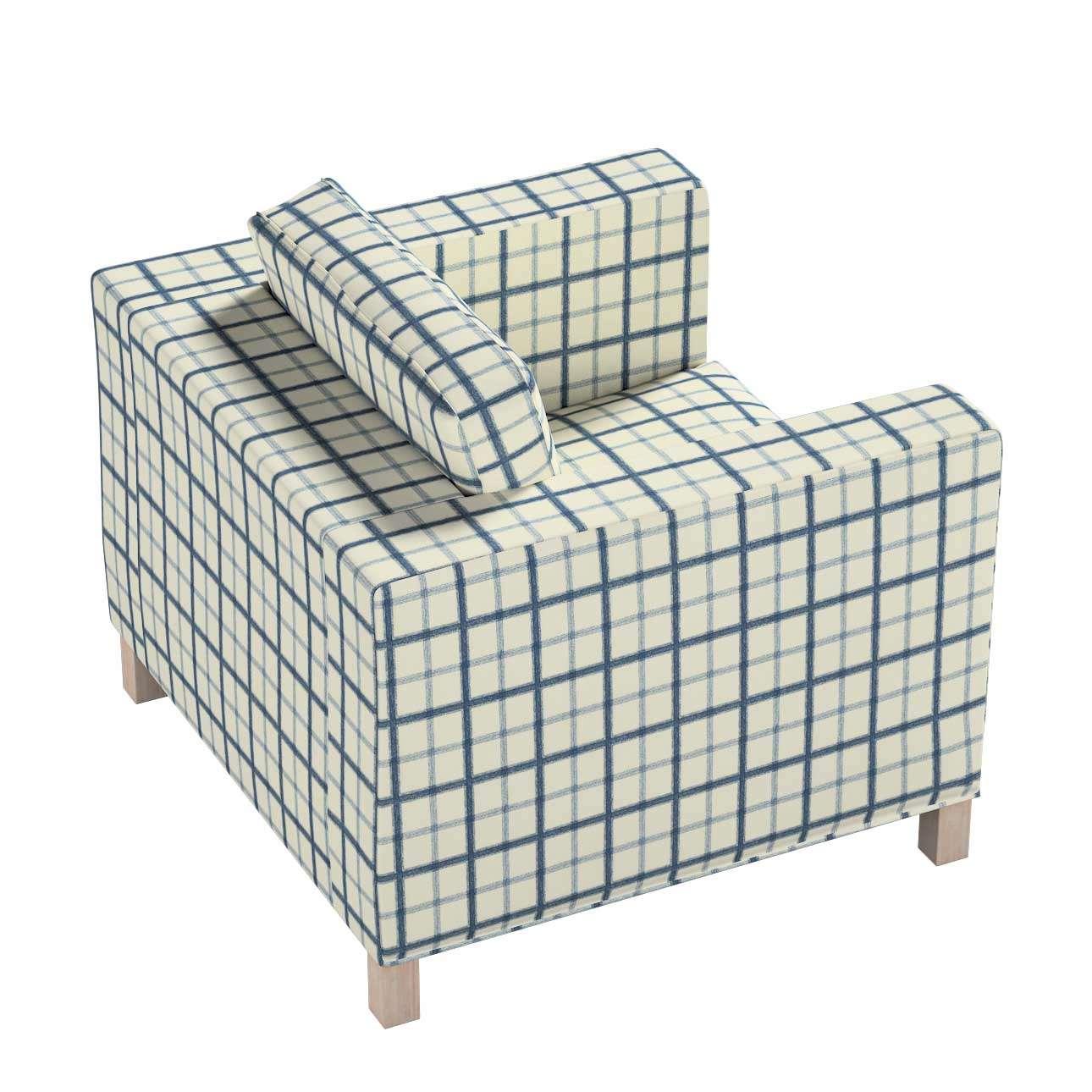 Pokrowiec na fotel Karlanda, krótki w kolekcji Avinon, tkanina: 131-66