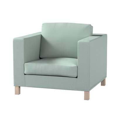 Pokrowiec na fotel Karlanda, krótki w kolekcji Living, tkanina: 160-86