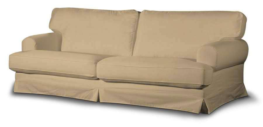 Ekeskog trekk sovesofa fra kolleksjonen Cotton Panama, Stoffets bredde: 702-01