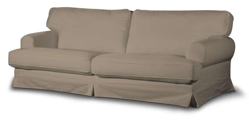 Ekeskog trekk sovesofa fra kolleksjonen Cotton Panama, Stoffets bredde: 702-28