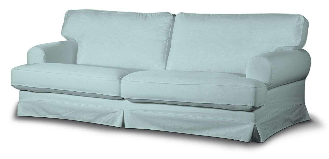 Pokrowiec na sofę Ekeskog rozkładaną w kolekcji Cotton Panama, tkanina: 702-10
