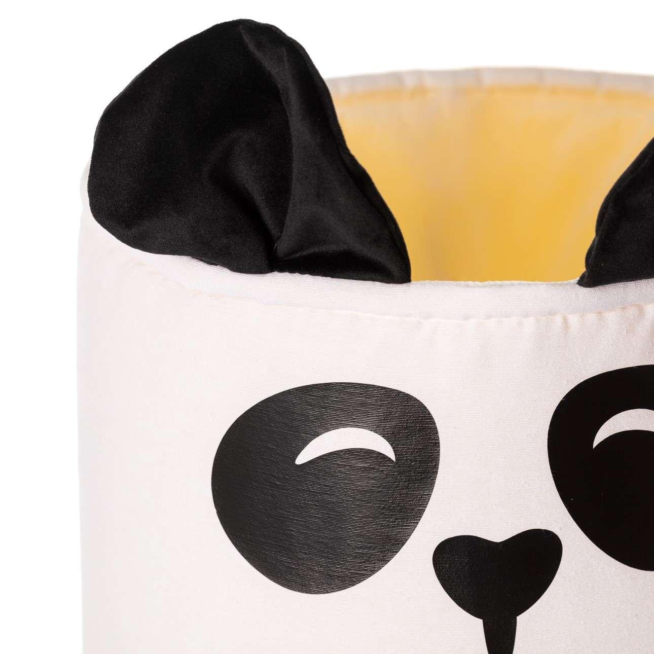 Kosz na zabawki Happy Band - Panda 30x40cm