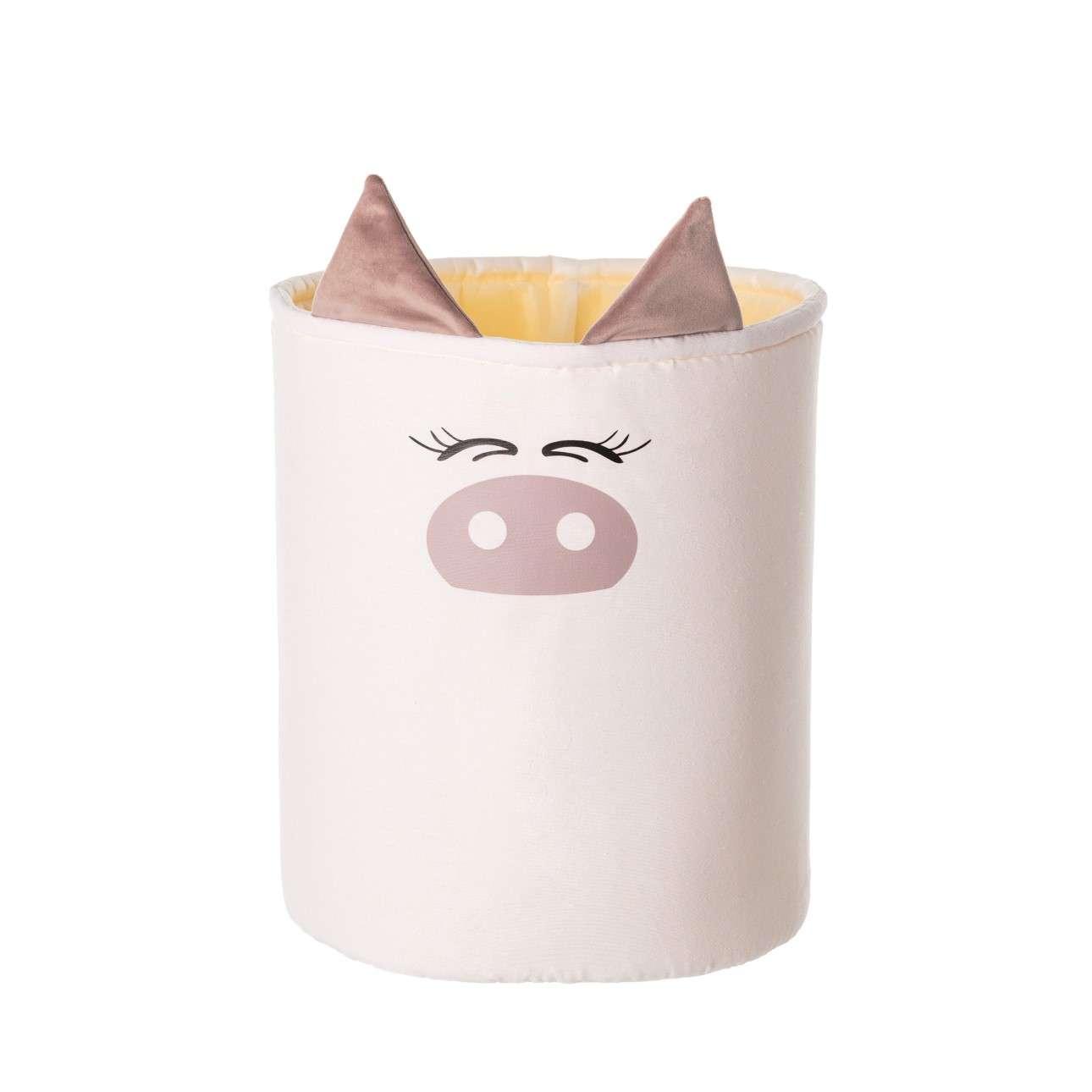 Kosz na zabawki Happy Band - Piggy 30x40cm