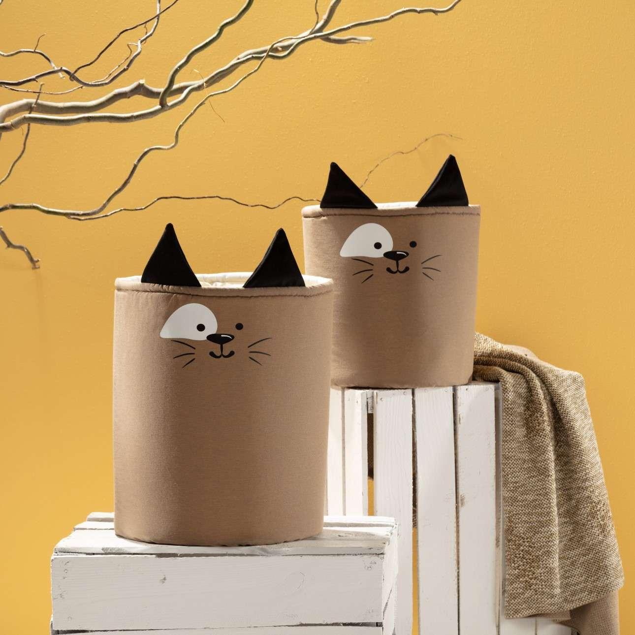 Kosz na zabawki Happy Band - Cat 25x30cm