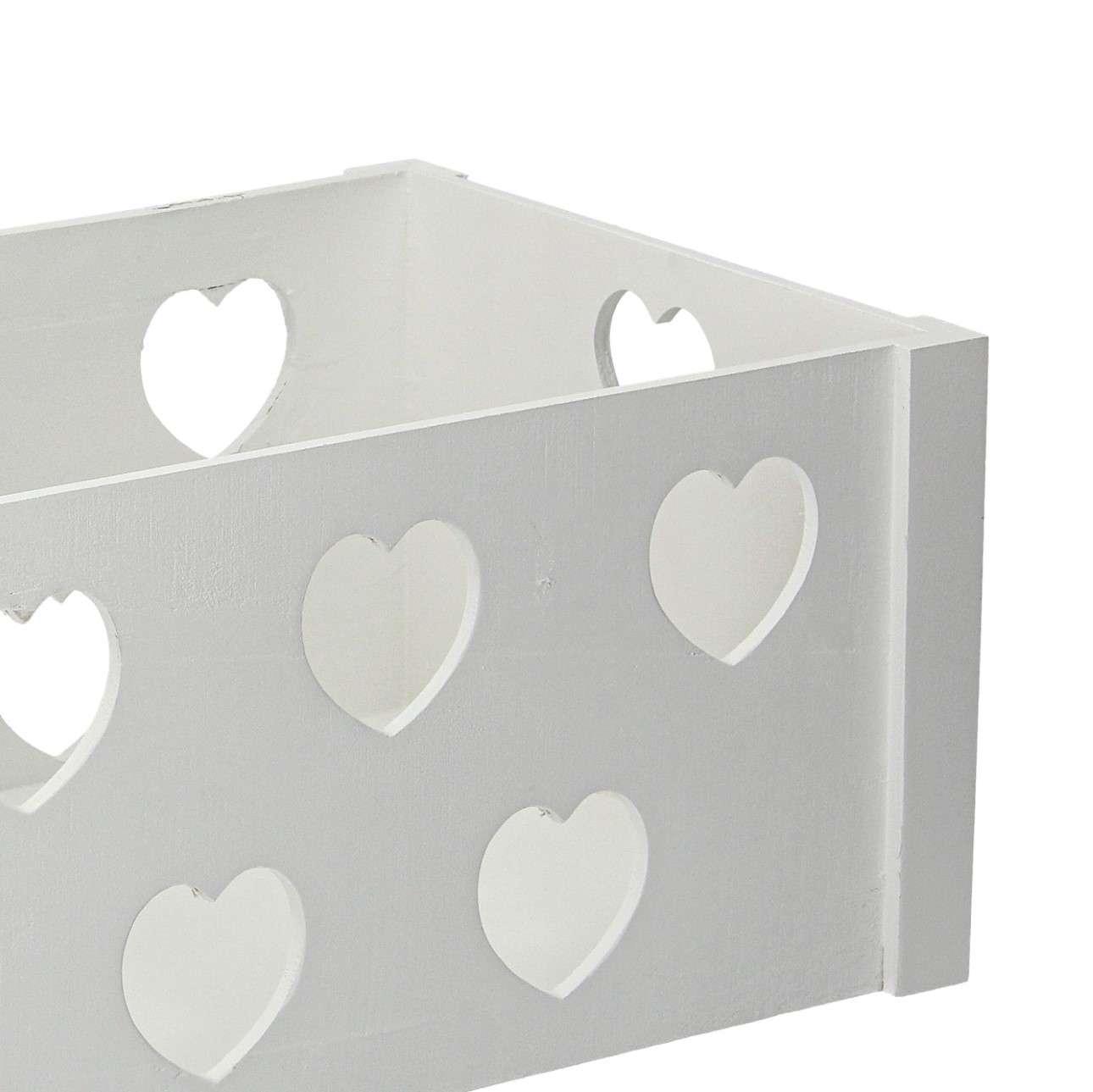 Skrzynka Hearts 30x40x22cm