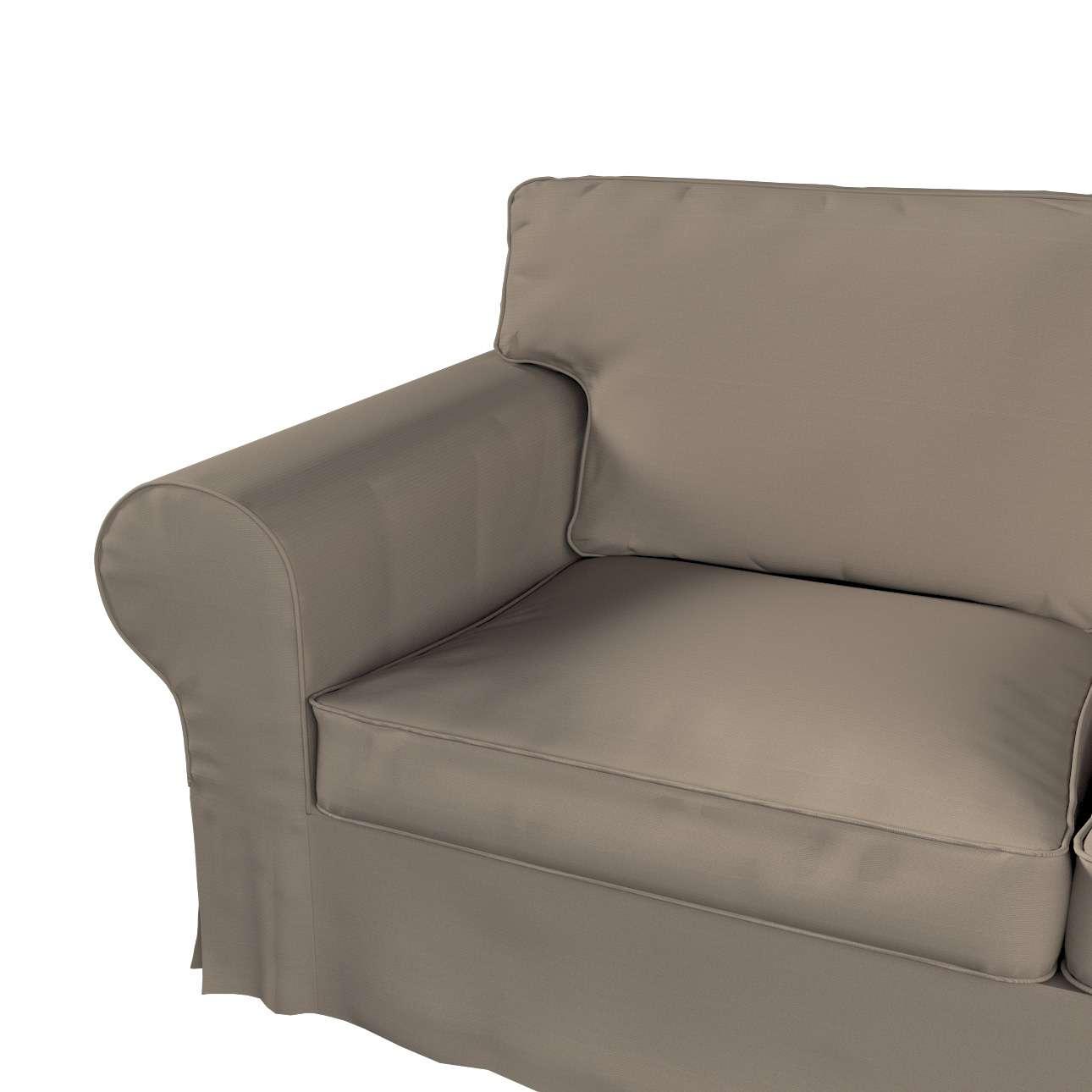 Ektorp trekk 2 seter med sjeselong fra kolleksjonen Cotton Panama, Stoffets bredde: 702-28