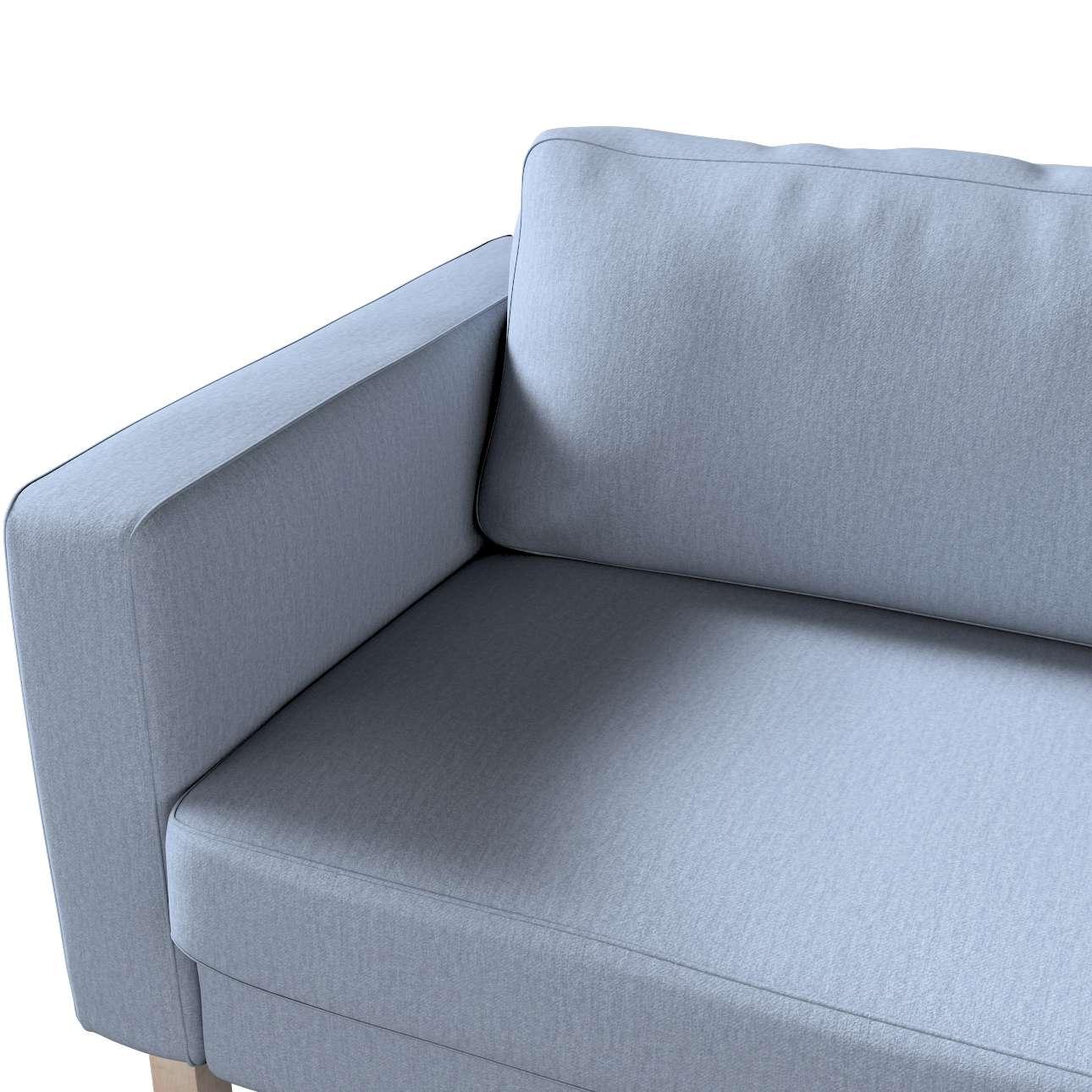 Pokrowiec na sofę Karlstad rozkładaną w kolekcji Chenille, tkanina: 702-13