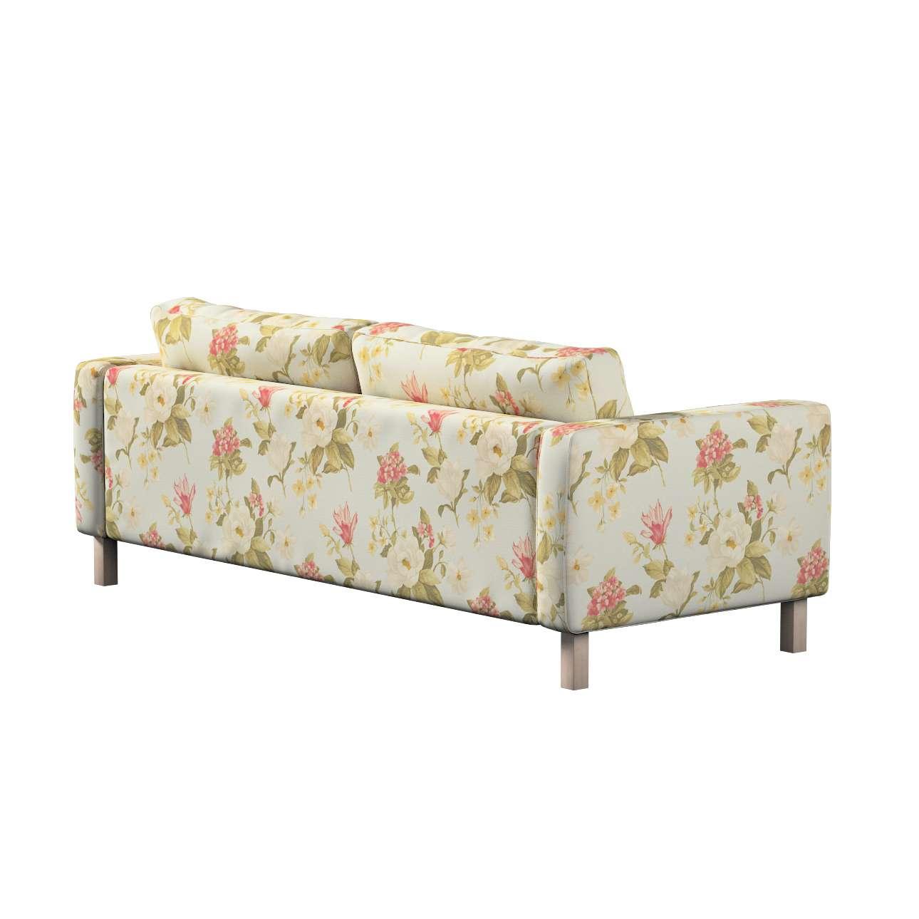 Pokrowiec na sofę Karlstad rozkładaną w kolekcji Londres, tkanina: 123-65