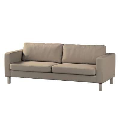 Karlstad trekk sovesofa 222cm fra kolleksjonen Cotton Panama, Stoffets bredde: 702-28
