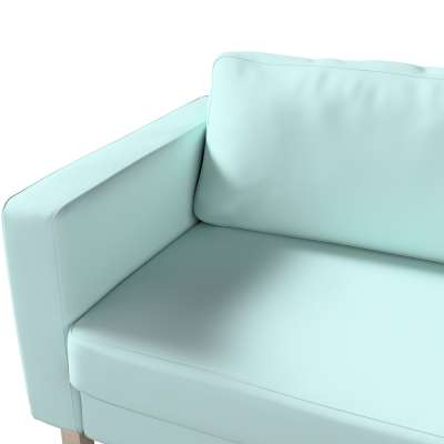 Pokrowiec na sofę Karlstad rozkładaną w kolekcji Cotton Panama, tkanina: 702-10