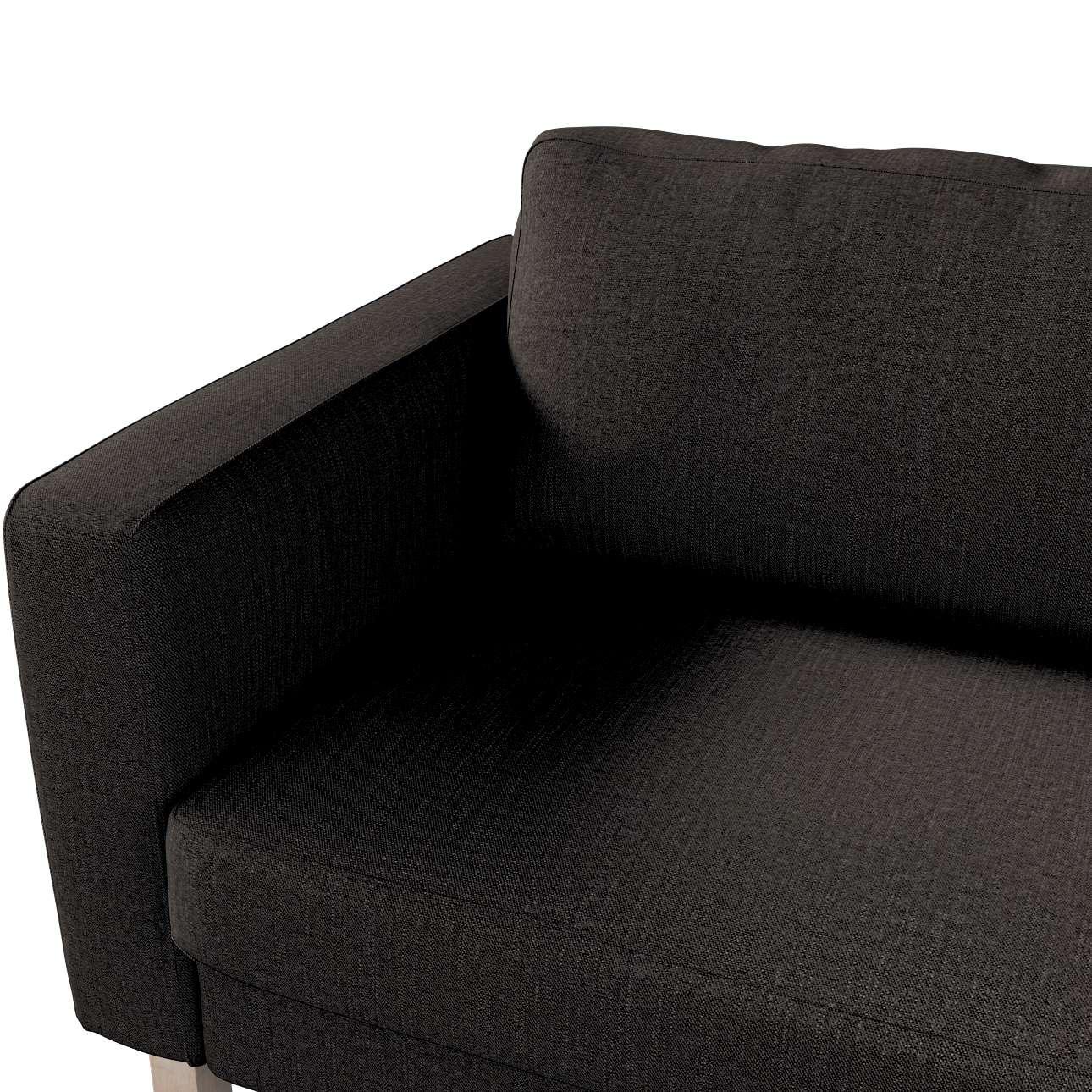 Karlstad trekk sovesofa 222cm fra kolleksjonen Etna - Ikke for gardiner, Stoffets bredde: 702-36
