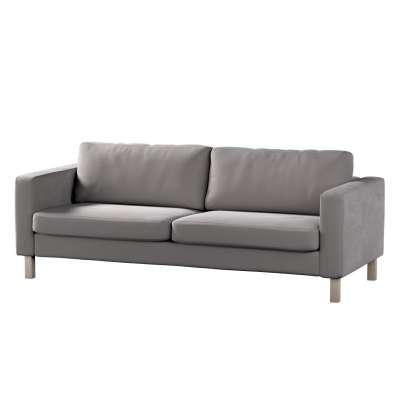 Pokrowiec na sofę Karlstad rozkładaną w kolekcji Velvet, tkanina: 704-11