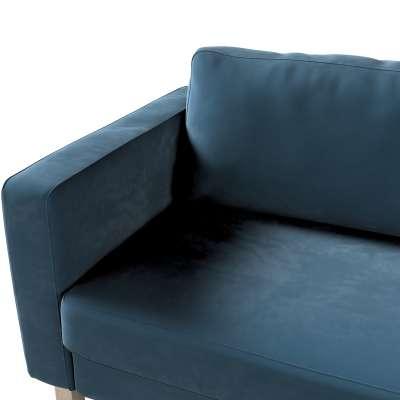 Karlstad trekk sovesofa 222cm fra kolleksjonen Velvet, Stoffets bredde: 704-16