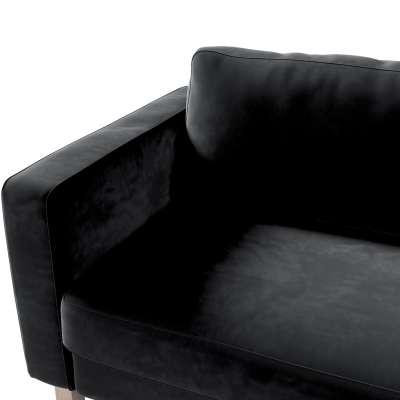 Pokrowiec na sofę Karlstad rozkładaną w kolekcji Velvet, tkanina: 704-17