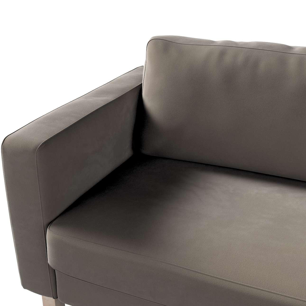 Pokrowiec na sofę Karlstad rozkładaną w kolekcji Velvet, tkanina: 704-19