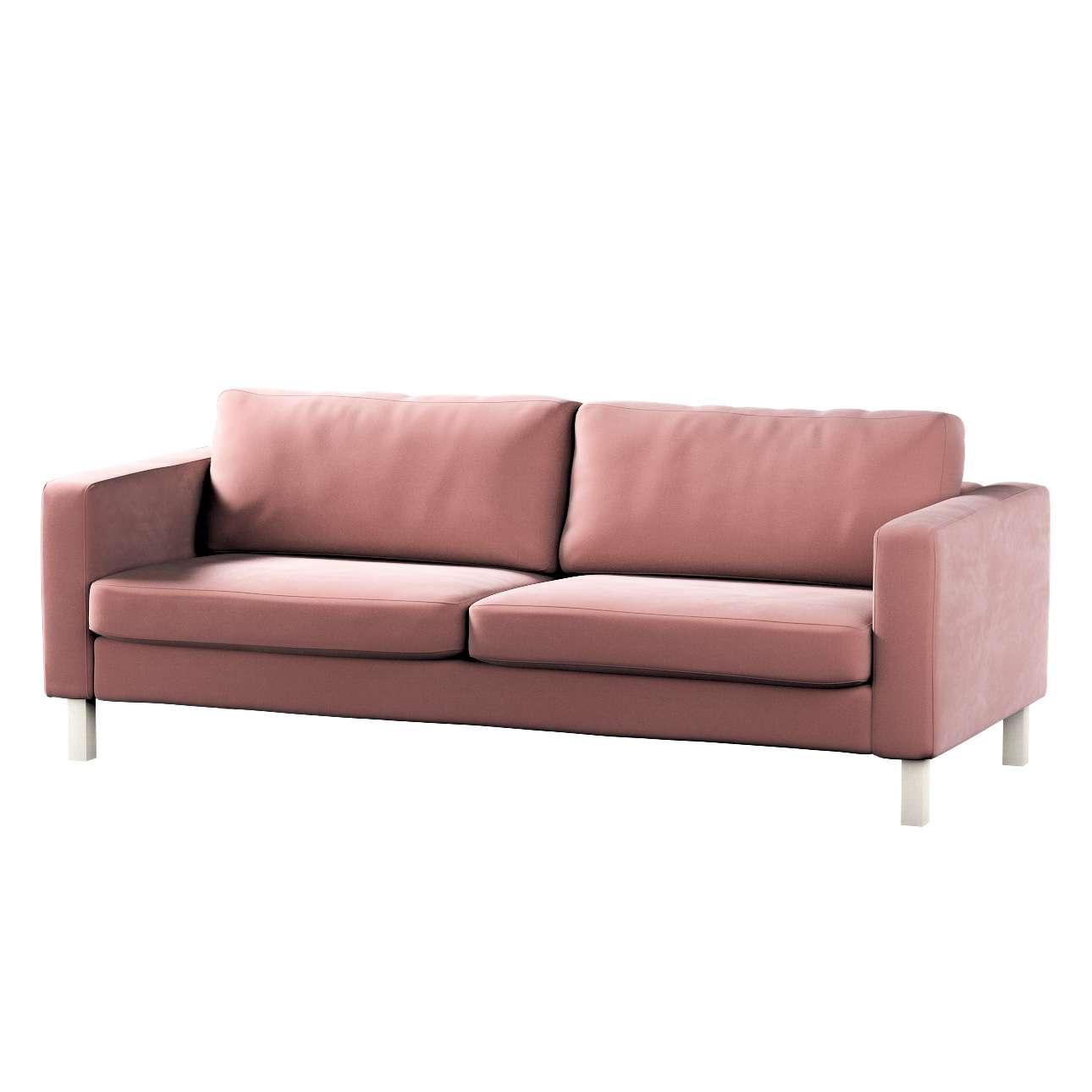 Pokrowiec na sofę Karlstad rozkładaną w kolekcji Velvet, tkanina: 704-30