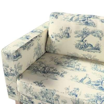 Pokrowiec na sofę Karlstad rozkładaną w kolekcji Avinon, tkanina: 132-66