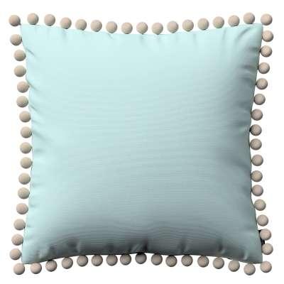 Kissenhülle Wera mit Bommeln 702-10 Kollektion Cotton Panama
