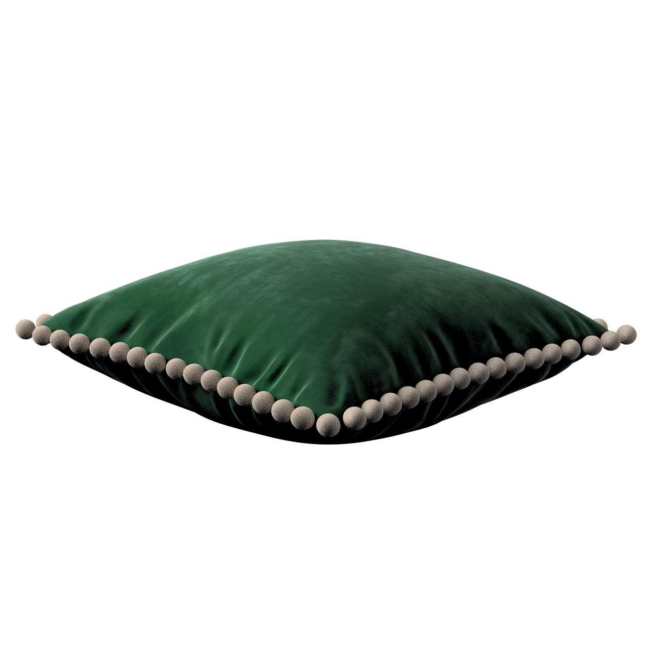 Poszewka Wera na poduszkę w kolekcji Velvet, tkanina: 704-13