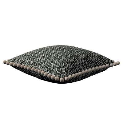 Poszewka Wera na poduszkę w kolekcji Black & White, tkanina: 142-86