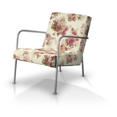 Pokrowiec na fotel Ikea PS w kolekcji Londres, tkanina: 141-06