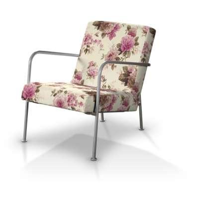 Pokrowiec na fotel Ikea PS w kolekcji Londres, tkanina: 141-07