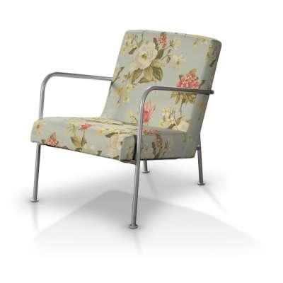 Pokrowiec na fotel Ikea PS w kolekcji Londres, tkanina: 123-65