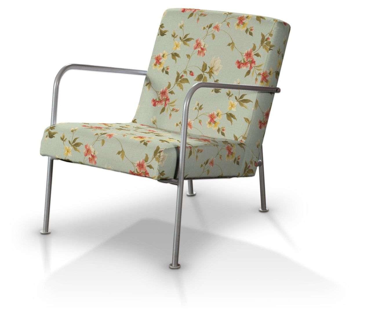 Pokrowiec na fotel Ikea PS w kolekcji Londres, tkanina: 124-65