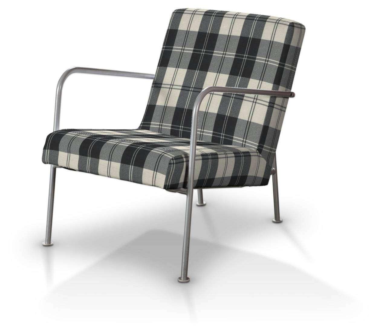 Pokrowiec na fotel Ikea PS w kolekcji Edinburgh, tkanina: 115-74