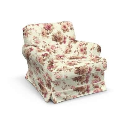 Pokrowiec na fotel Barkaby w kolekcji Londres, tkanina: 141-06