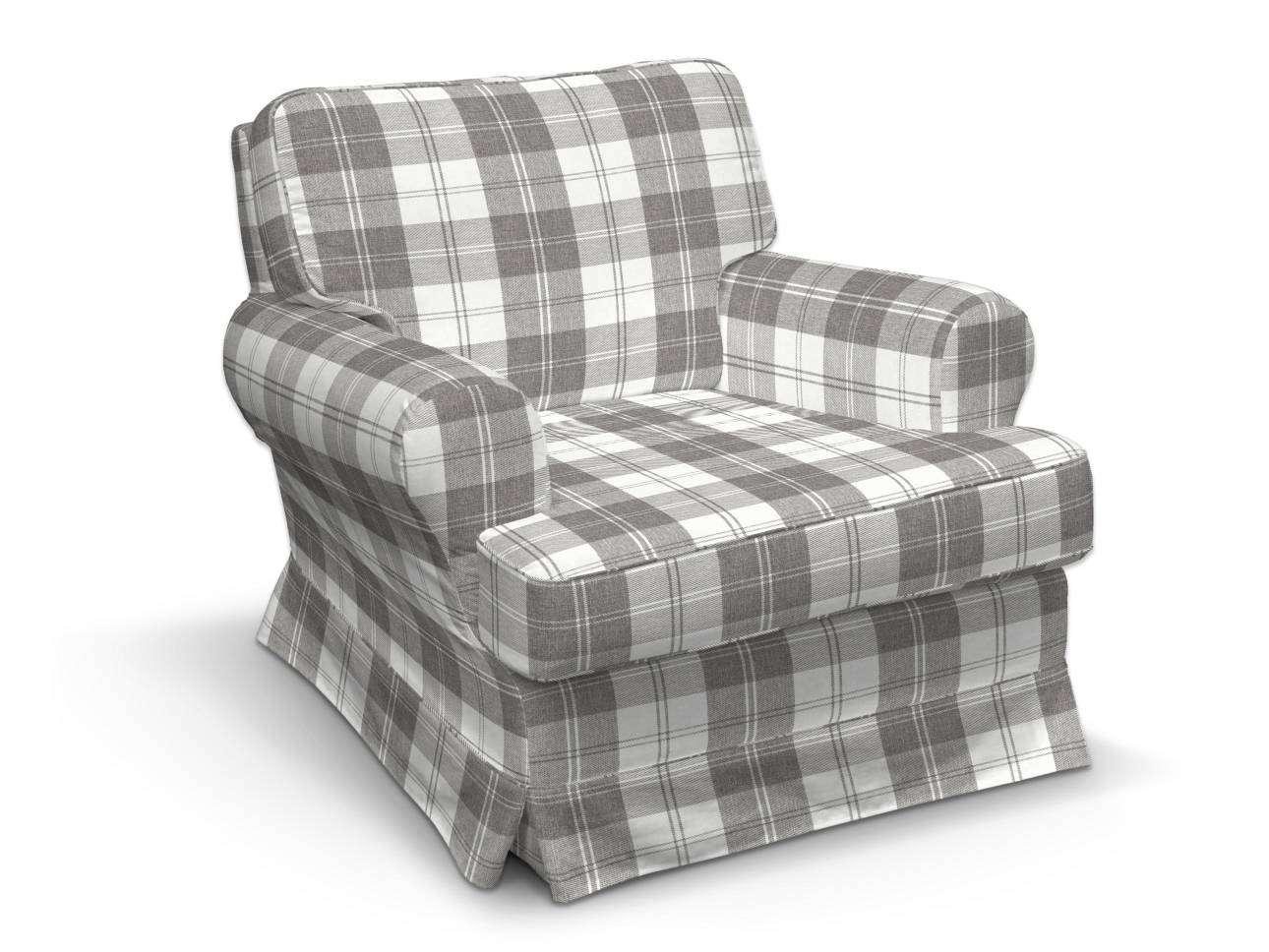Pokrowiec na fotel Barkaby w kolekcji Edinburgh, tkanina: 115-79
