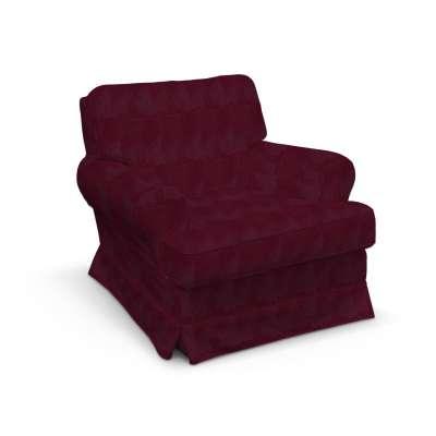 Pokrowiec na fotel Barkaby w kolekcji Chenille, tkanina: 702-19